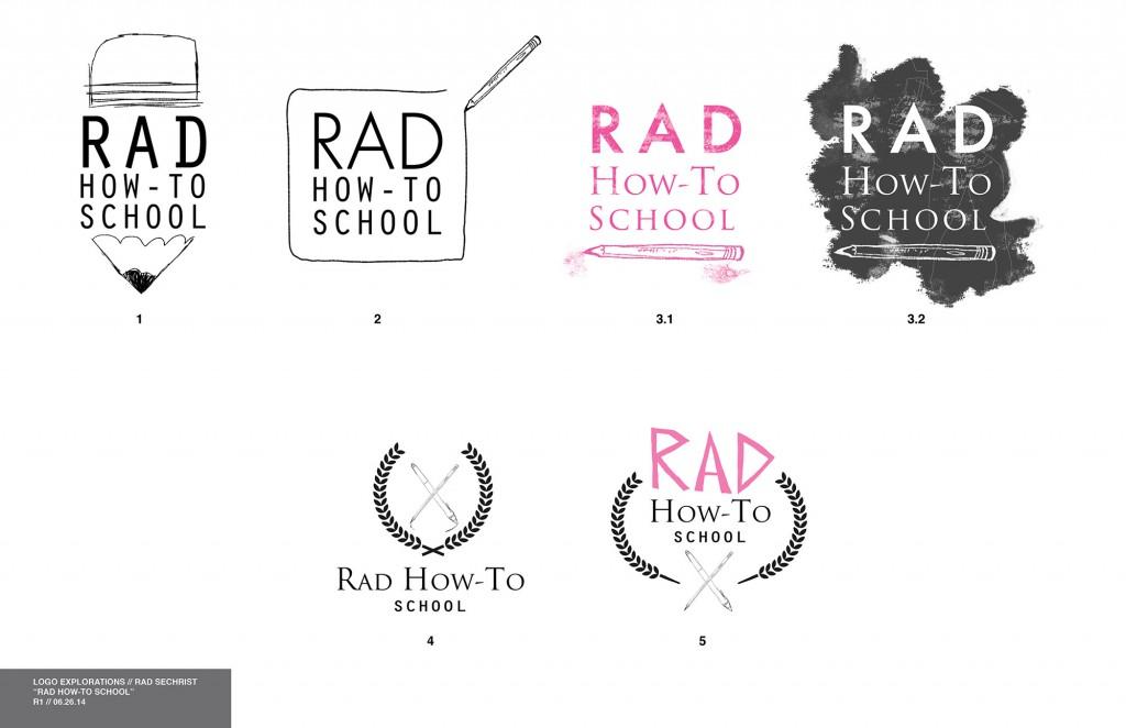 rad sechrist logo concepts