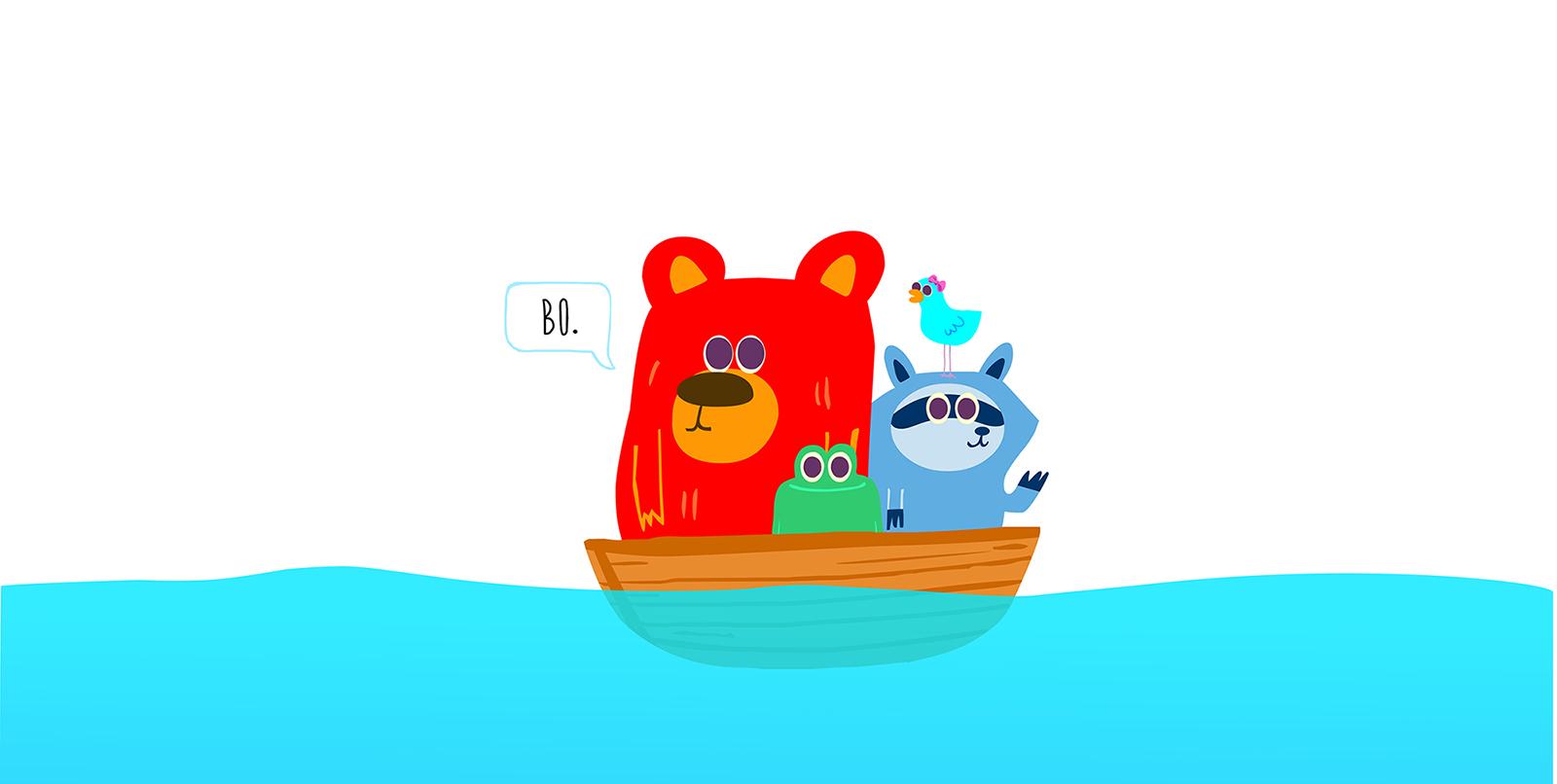 Bo Bear & Friends