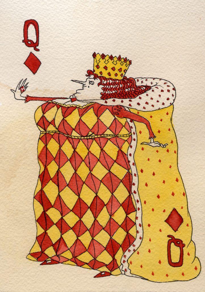 Queen of Diamonds, Nicolette Davenport