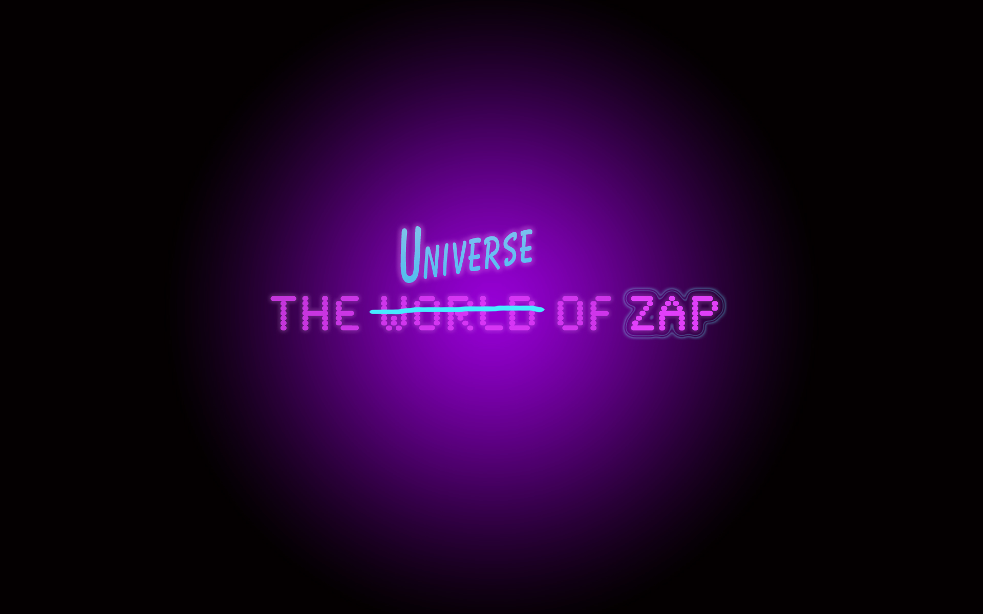 The Universe of ZAP